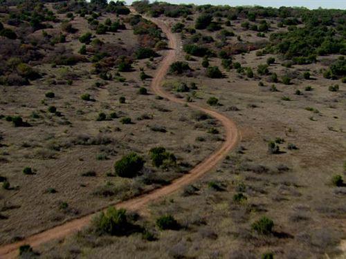 Ranch Land Creek Near Border : Presidio : Texas