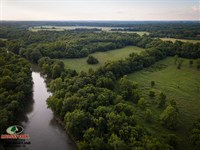 111 Acres Along Spring River For : Purcell : Jasper County : Missouri