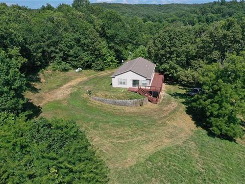 57 Acres Nice House Close to Lake : Climax Springs : Camden County : Missouri