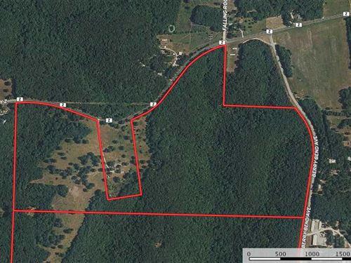 Timbered 109 Acres in Benton CO cl : Warsaw : Benton County : Missouri