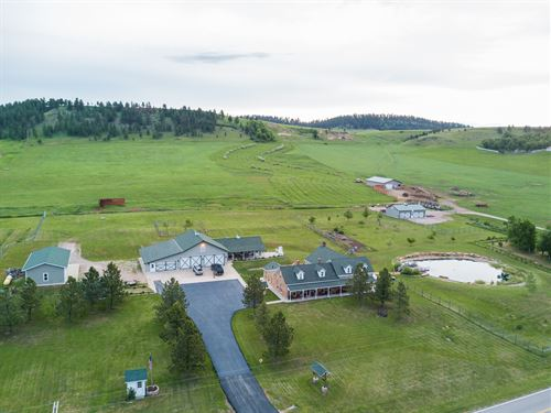 Stone House Ranch : Whitewood : Lawrence County : South Dakota