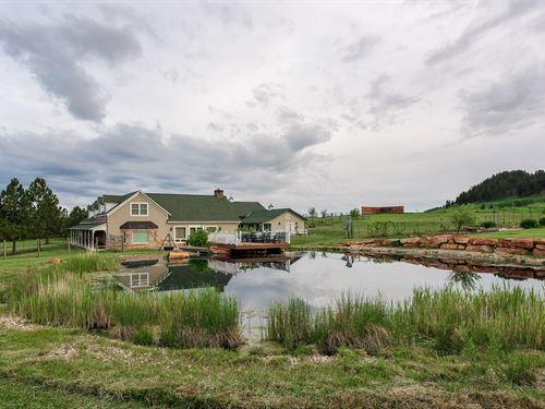 Stone House Lodge : Whitewood : Lawrence County County : South Dakota