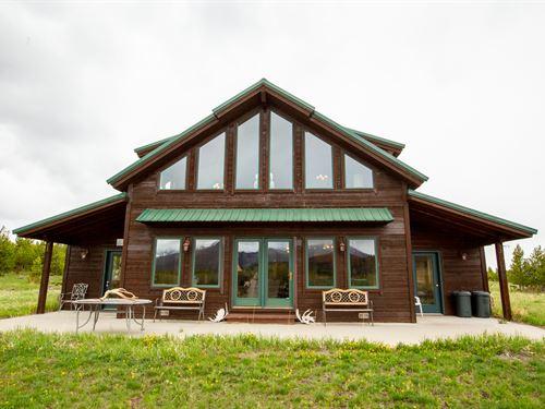 Townsend-Owl Mountain Home : Rand : Jackson County County : Colorado