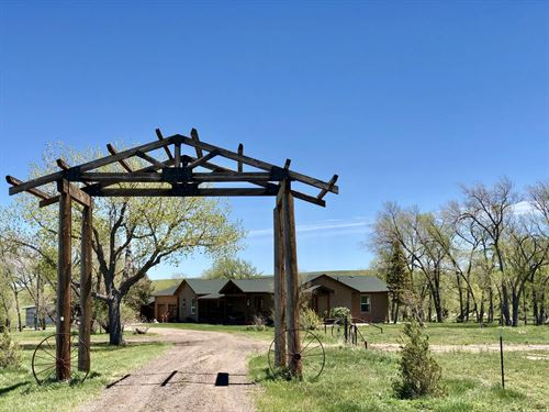 Willow Gulch Horse And Cattle Ranch : Matheson : Elbert County : Colorado