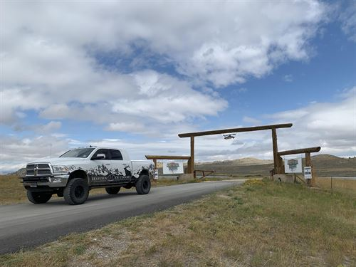 Monster Lake Ranch : Cody : Park County : Wyoming