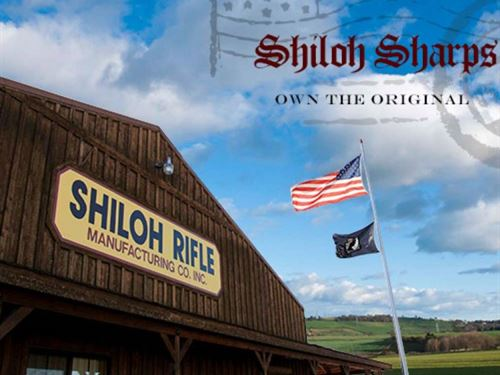 Shiloh Sharps Rifle Company : Big Timber : Sweet Grass County County : Montana