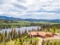 The Krohn Lake Ranch : Lincoln : Lewis And Clark County : Montana