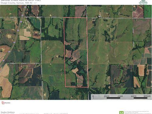 Switzler Creek Farm & Hunt : Burlingame : Osage County : Kansas