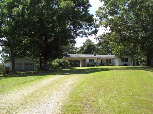 Home 23.8 Acres at Clearwater Lake : Piedmont : Reynolds County : Missouri