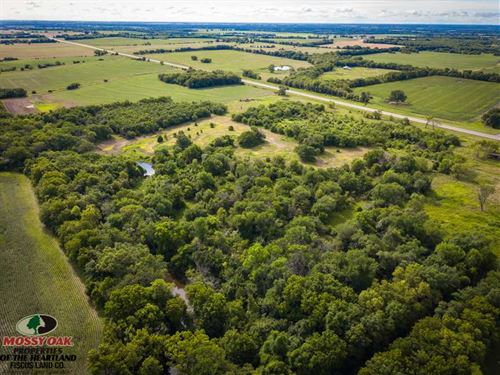39 Acres Turn Key Hunting Farm For : McCune : Crawford County : Kansas