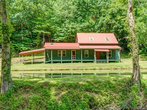 Creekside Hideaway-115 Acres : Linden : Perry County : Tennessee