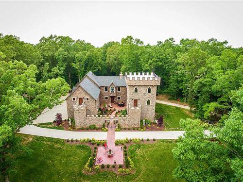 Castle Near Nixa, Missouri : Clever : Stone County : Missouri
