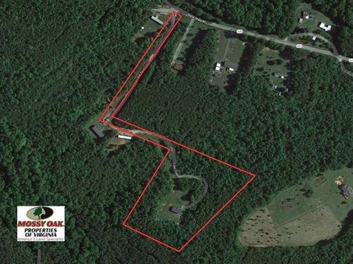 8.33 Acres of Hunting Land : Nathalie : Halifax County : Virginia