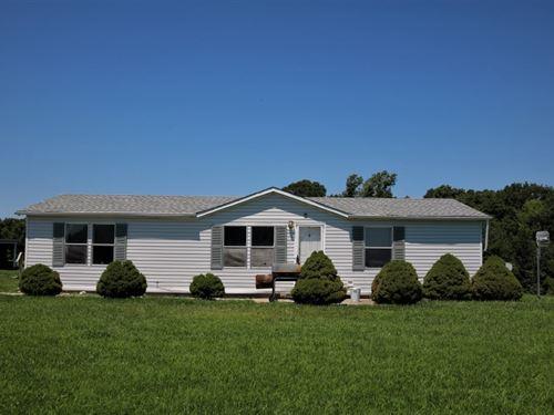 3 Br, 2 BA Country Home Rental : Prairie Home : Cooper County : Missouri