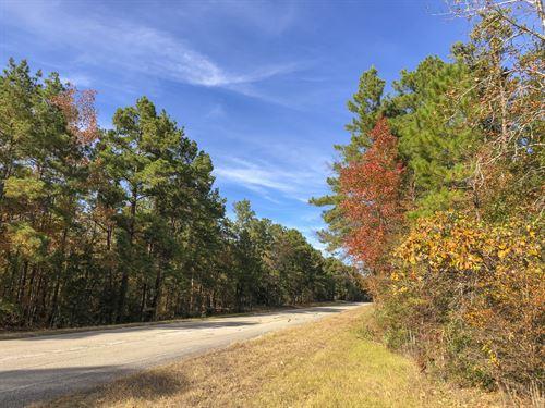 61 Acres New Waterwood Tr 16 : Huntsville : San Jacinto County : Texas