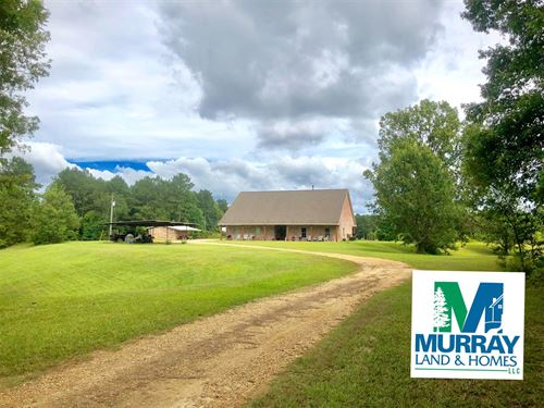 Beautiful, Secluded, Ready To Relax : Woodville : Wilkinson County : Mississippi
