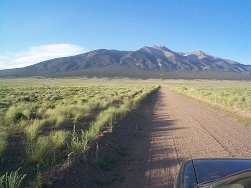 5 Acs B/W Mountains In Costilla Co : Blanca : Costilla County : Colorado