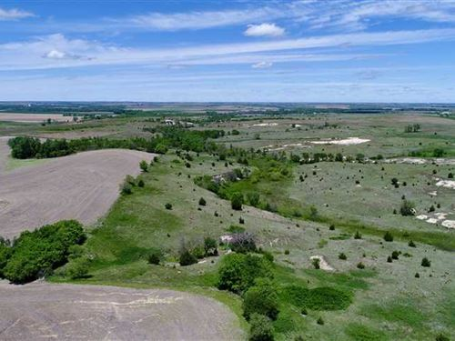 396 Acres of Mix Use Pasture : Speed : Phillips County : Kansas