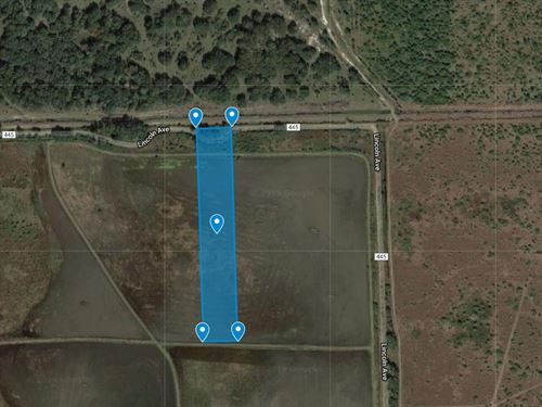 5 Acres For Sale In Francitas, Tx : Francitas : Jackson County : Texas