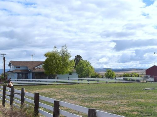 117 Acres Of Prime Farm Ground : Tulelake : Siskiyou County : California
