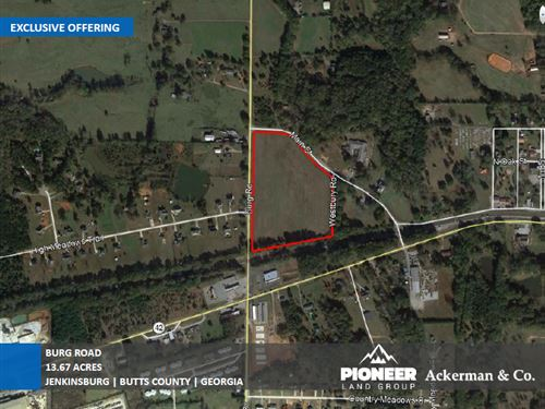 13.67 Acres Burg Road : Jenkinsburg : Butts County : Georgia
