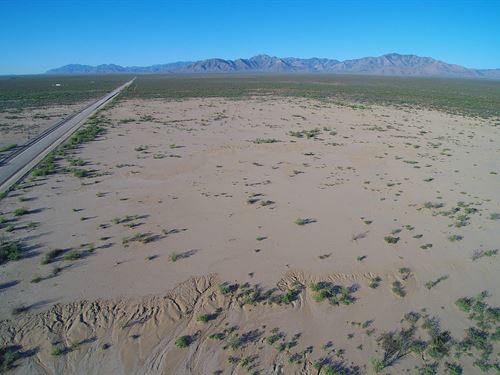 Excellent Prime Ag/Res Land : San Simon : Cochise County : Arizona