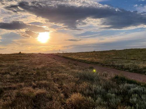 Dramatic Views : Fort Laramie : Goshen County : Wyoming