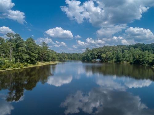 18 Acre Lake, Hunting, & Custom : Buena Vista : Marion County : Georgia