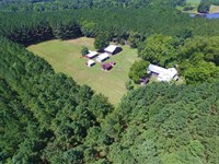 81.72 Acres of Rural Residential : Emporia : Greensville County : Virginia