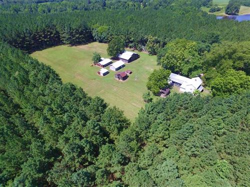 81.72 Acres of Rural Residential : Emporia : Greensville County : Virginia