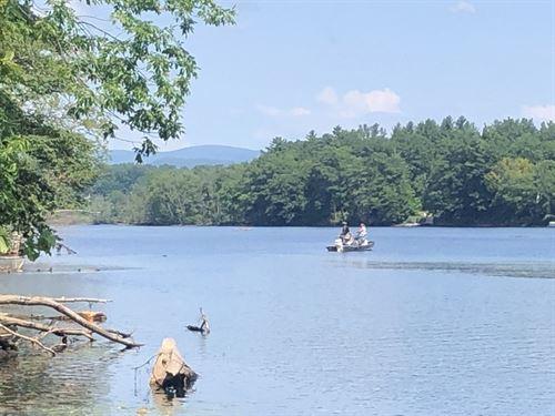 Hudson River Woodlands : Queensbury : Warren County : New York