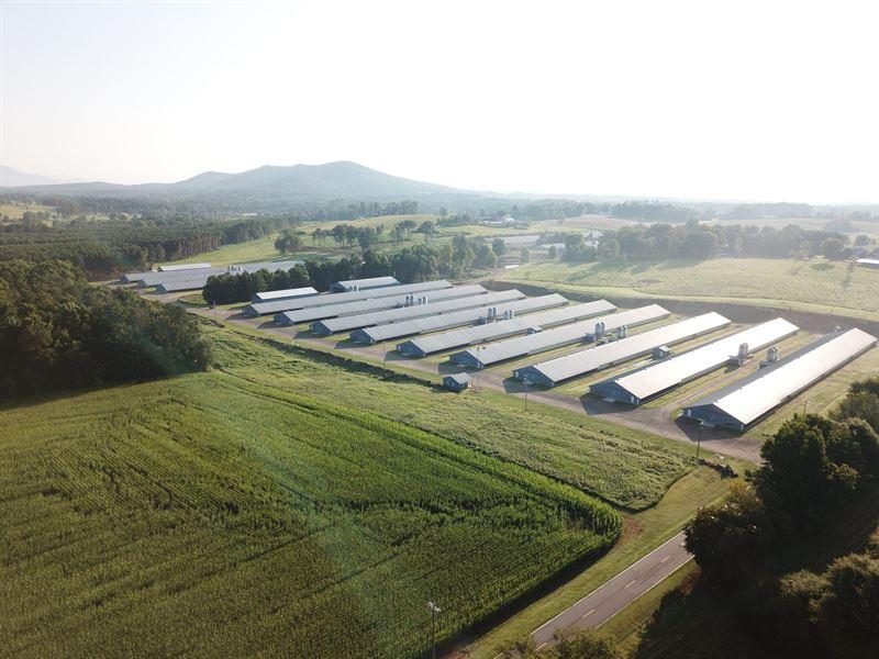 Bowen Poultry Farm : Clermont : Hall County : Georgia