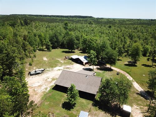 Hunting Ranch Country Home Cass : Bivins : Cass County : Texas