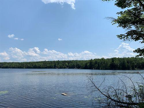 Lakefront Land Lots in Burlington : Burlington : Penobscot County : Maine