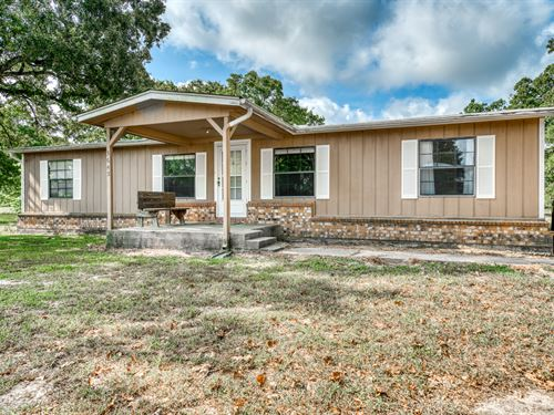 23+/- Acres, Country Living : North Zulch : Madison County : Texas