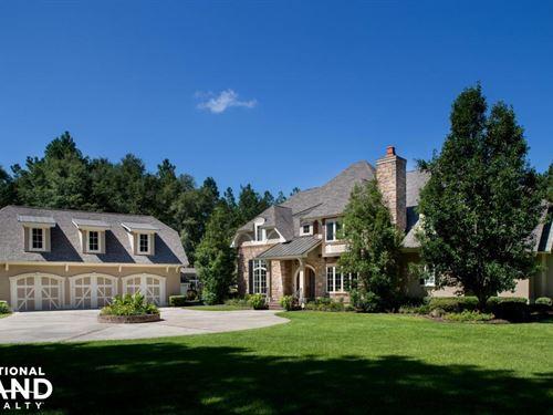 29 Oaks Luxury Home & Recreational : Early Branch : Jasper County : South Carolina