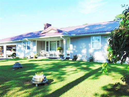 Country Home Basement & 20+ Acres : Oxford : Izard County : Arkansas