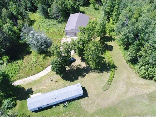 Country Home Acreage Pine River : Finlayson : Pine County : Minnesota