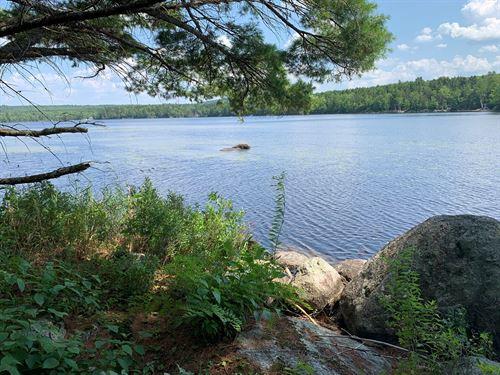 Lakefront Land Burlington, Maine : Burlington : Penobscot County : Maine