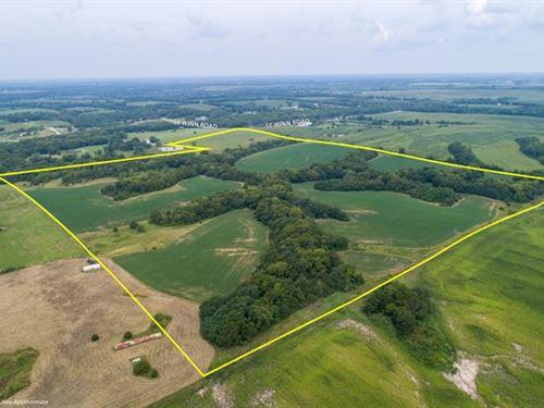 Land Auction 100 Acre Farm : Lathrop : Clinton County : Missouri