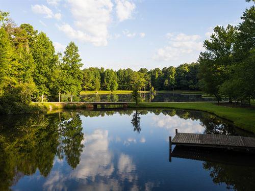 Beautiful Private Retreat : Waverly : Tallapoosa County : Alabama