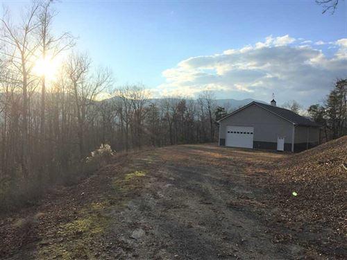 30 Acres With Amazing Views : Burnsville : Yancey County : North Carolina