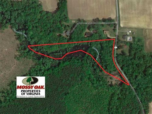 5 Acre Building Lot For Sale in Is : Windsor : Isle Of Wight County : Virginia