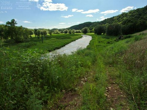 Diverse Recreational Land Grant : Potosi : Grant County : Wisconsin