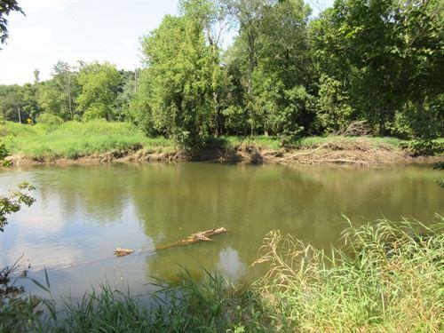 Riverfront Property Along : Navarre : Stark County : Ohio