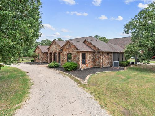 Auction, 10+/- Acres & Custom Home : Kurten : Brazos County : Texas