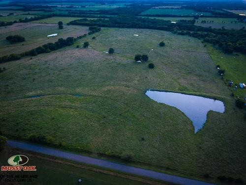 80 Acre Pasture For Sale In Cherok : McCune : Cherokee County : Kansas