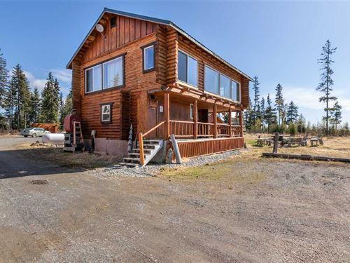 3 Custom Homes in Anchor Point Wit : Anchor Point : Kenai Peninsula Borough : Alaska