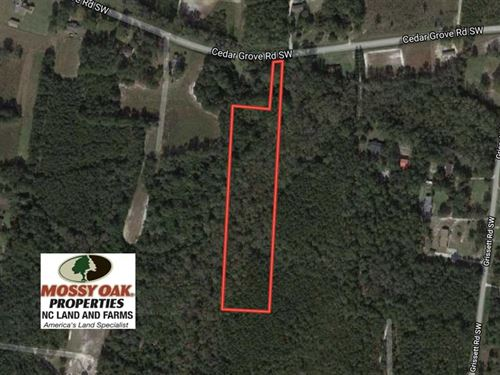 5 Acres of Residential And Hunting : Supply : Brunswick County : North Carolina