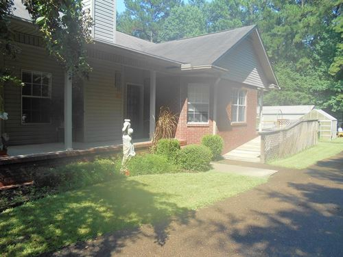 Country Home 5 Acres Franklin : Meadville : Franklin County : Mississippi